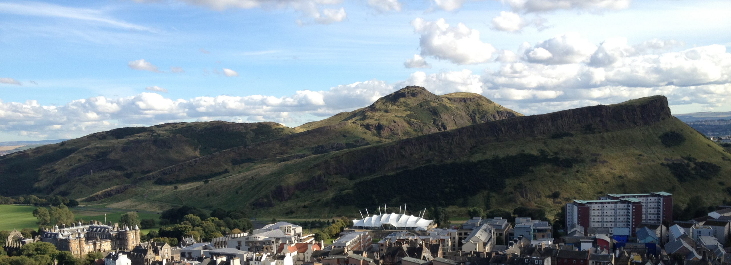 Arthur's Seat and the Salisbury Crags